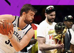 Enlace a El duro camino de Marc Gasol hacia el anillo de campeón NBA