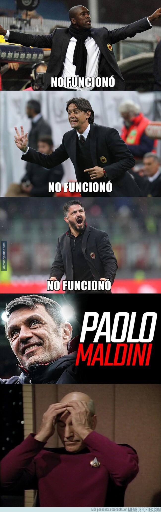 1078116 - La manía del Milan de arruinar a leyendas haciéndoles entrenadores