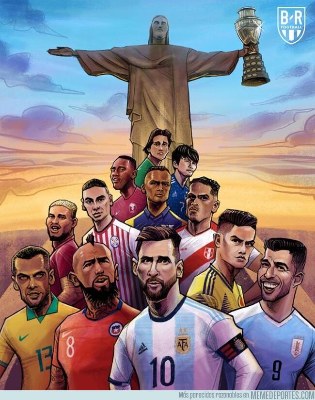 1078172 - ¡Arrancó la Copa América Brasil 2019! Por @brfootball