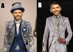 Enlace a Si tuvieras que elegir uno de estos modelitos para el traje de novio de Ramos, ¿cuál hubieses elegido?