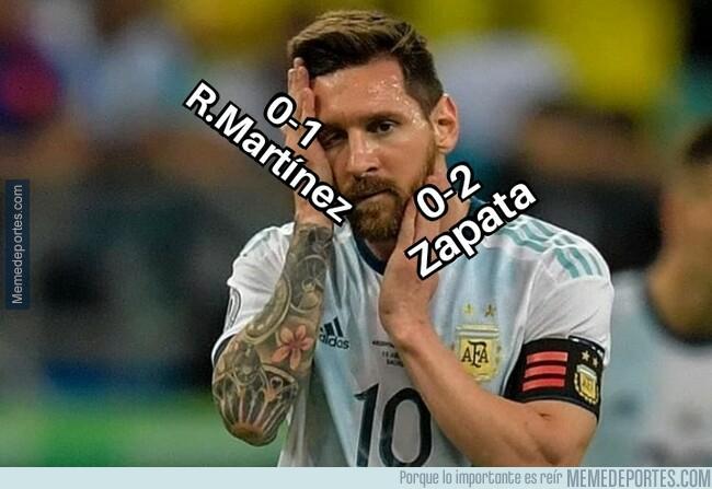 1078276 - Colombia desencajó el rostro de Messi