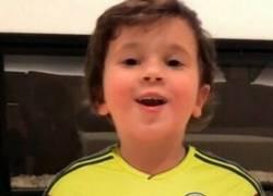 Enlace a Mateo Messi no pierde el tiempo, ya es colombiano
