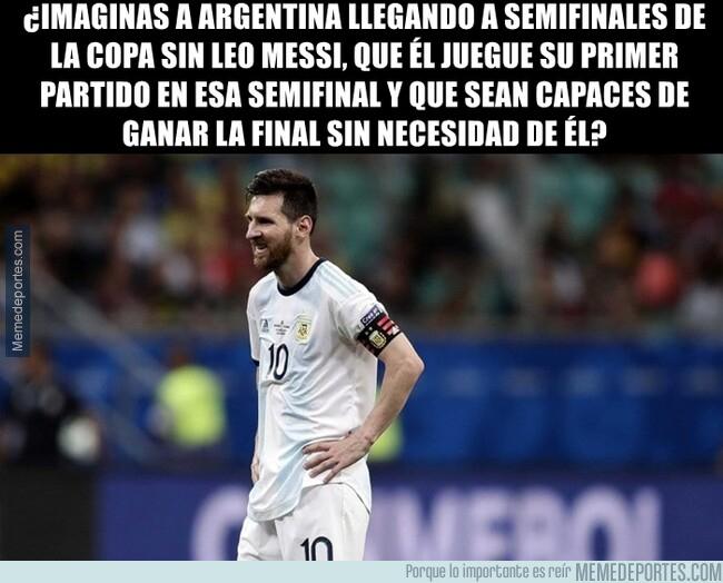 1078314 - Sin Messi, no serían capaces de pasar de fase de grupos