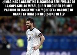 Enlace a Sin Messi, no serían capaces de pasar de fase de grupos