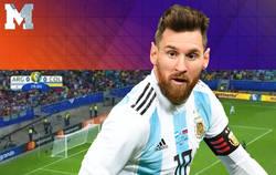Enlace a A Messi le estan pidiendo ganar un Mundial con esta defensa. Y lo dicen serios y todo