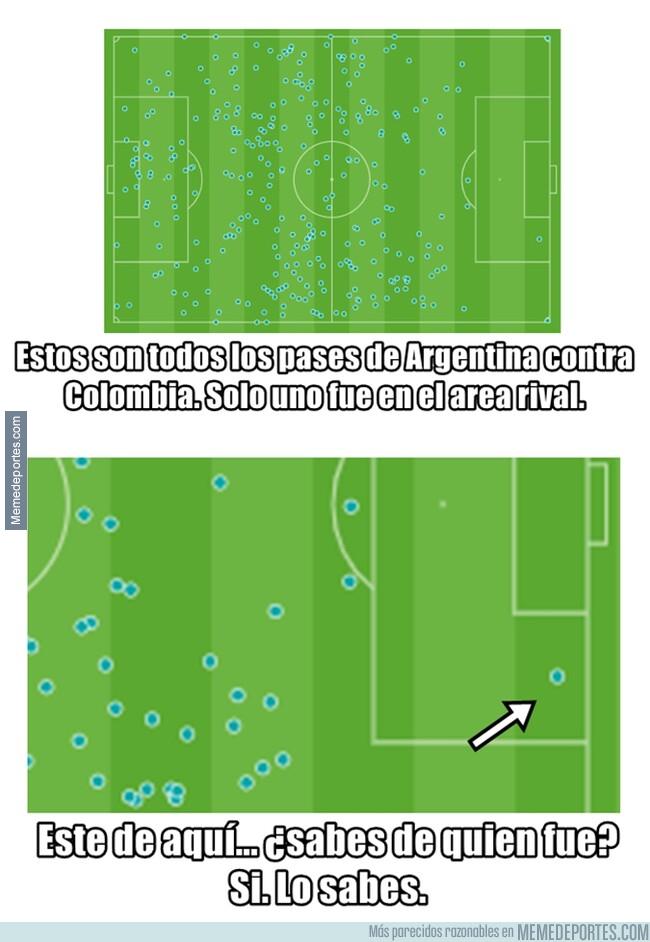 1078327 - Argentina solo tiene un argumento ofensivo. Y es al que todos están culpando