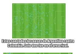 Enlace a Argentina solo tiene un argumento ofensivo. Y es al que todos están culpando