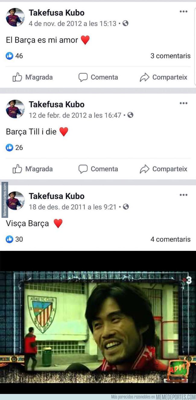 1078407 - Los mensajes del pasado de Takefusa Kubo, nuevo jugador del Real Madrid, que le dejan en muy mal lugar