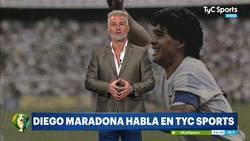 Enlace a El polémico audio de Maradona analizando a Argentina en el debut de la Copa América en el que apenas se le entiende