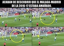 Enlace a Un escándalo de amaño salpica el partido con el que el Madrid salió campeón de Liga