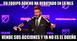 Enlace a Le ha durado poco a Beckham el caprichito del Inter Miami