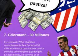 Enlace a Los fichajes más caros de la historia del Atlético de Madrid