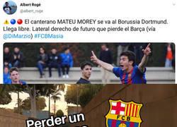 Enlace a El Barça ya está acostumbrado a dejar escapar perlas de su cantera