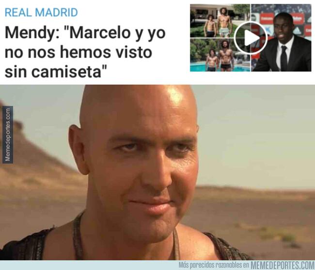1078708 - Mendy se trama algo con Marcelo y no es nada bueno