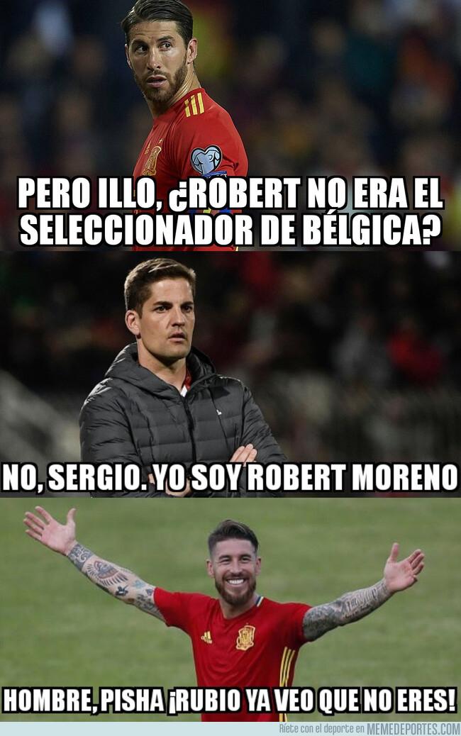 1078720 - Robert tendrá la difícil misión de entenderse con Ramos