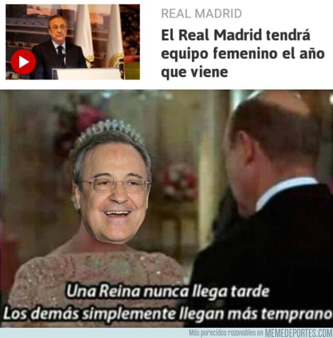 1078944 - Aunque un poco tarde, el Real Madrid tendrá equipo femenino