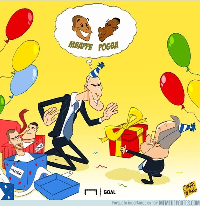 1079063 - El regalo que Zidane desearía por su cumpleaños, por @goalglobal