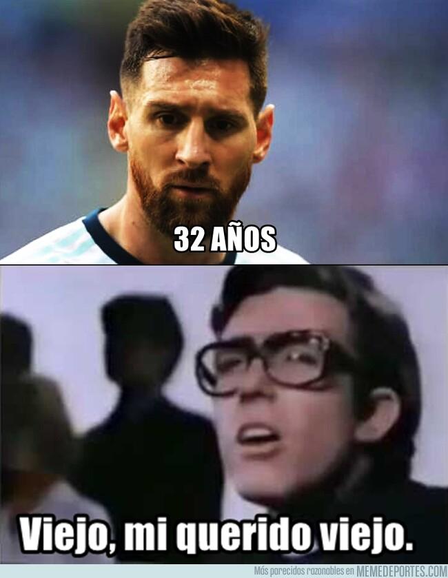 1079132 - Se nos hizo viejo Messi