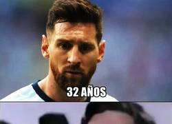 Enlace a Se nos hizo viejo Messi