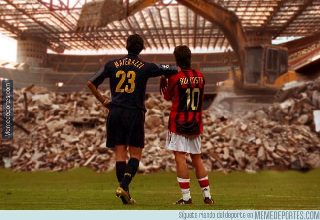 1079139 - El Inter y el Milan acordaron la demolición del San Siro para construir uno nuevo