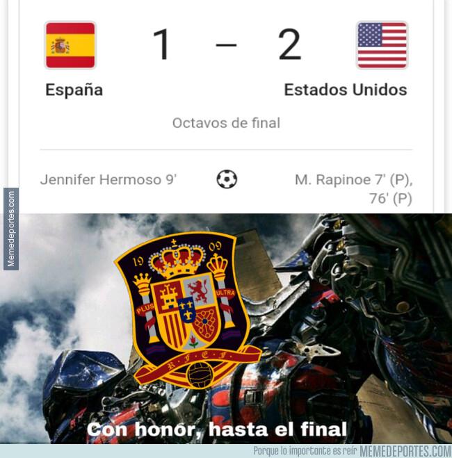 1079168 - España cae del mundial, pero con todos los honores