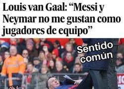 Enlace a Lo de Neymar es discutible... ¿Pero Messi? ¿en serio?