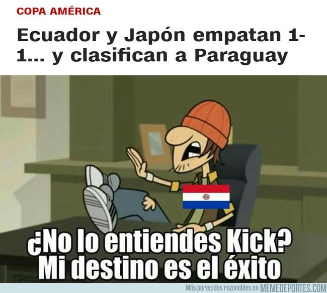 1079201 - INCREÍBLE. Paraguay avanza a Cuartos de Copa América...con sólo 2 puntos!
