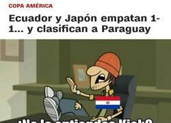 Enlace a INCREÍBLE. Paraguay avanza a Cuartos de Copa América...con sólo 2 puntos!