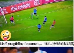 Enlace a Las dos grandes acciones de Suárez ante Chile