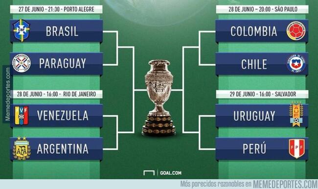 1079225 - Así han quedado los cuartos de final de la Copa América. Haz tu pronóstico de la final