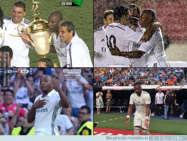 1079270 - Edwin Congo ha jugado literalmente más partidos como leyenda del Real Madrid que partidos oficiales