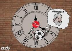 Enlace a Ojalá parar el tiempo y disfrutar siempre del buen fútbol, por @zezocartoons