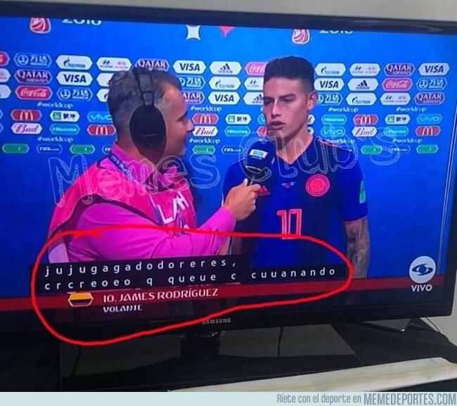 1079298 - Ni los subtítulos de los televisores respetan a James