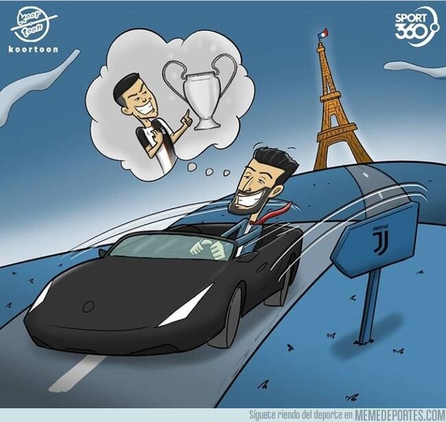 1079359 - Buffon podría volver a Turín viendo que la Champions vuelve a ser posible, por @koortoon