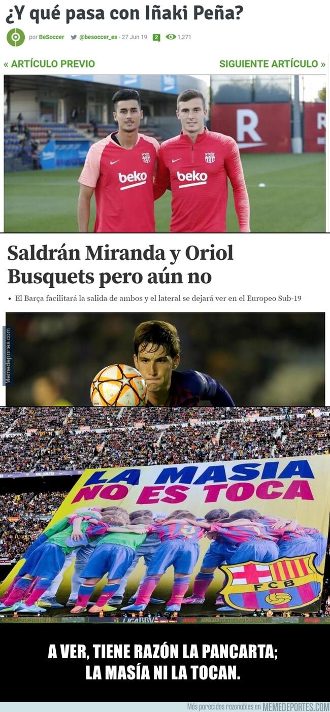 1079406 - Uno de los postureos más falsos que ha sacado el Barça