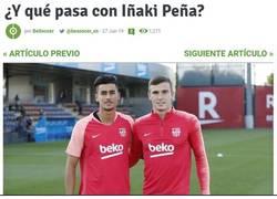 Enlace a Uno de los postureos más falsos que ha sacado el Barça