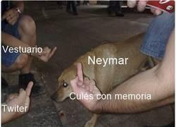 Enlace a Horas oscuras para Neymar
