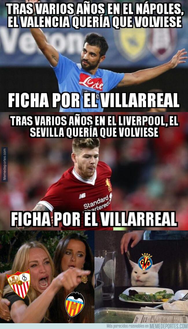 1079430 - El Villarreal le quita dos posibles regresos a Sevilla y Valencia