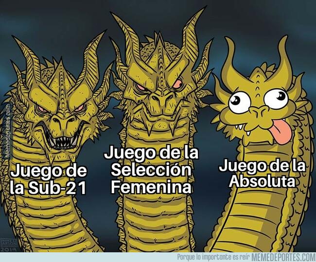 1079438 - Casi todas las selecciones de España juegan divinamente