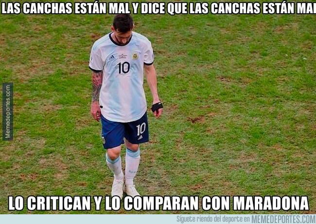1079601 - Messi tiene razón, pero lo importante es fastidiar