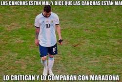 Enlace a Messi tiene razón, pero lo importante es fastidiar
