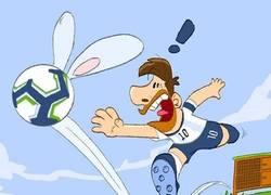 Enlace a Según Messi, el balón parecía un conejo, por @goalglobal