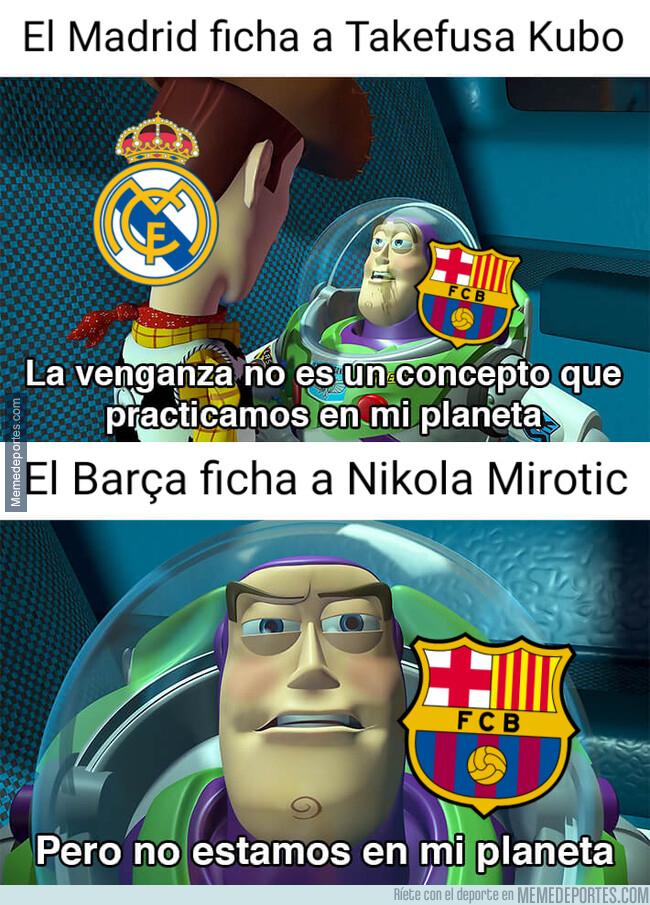 1079626 - El Barça ficha a un ex madridista para contrarrestar lo de Kubo