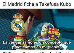 Enlace a El Barça ficha a un ex madridista para contrarrestar lo de Kubo