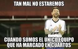 Enlace a La peor Argentina es la más goleadora de esta Copa