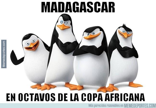 1079701 - Madagascar da la sorpresa y pasa a octavos como primera