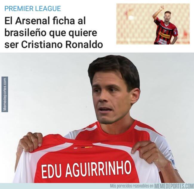 1079898 - El Arsenal ficha al Edu Aguirre brasileño