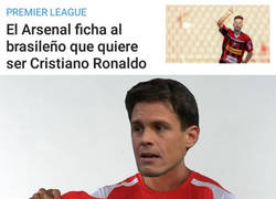 Enlace a El Arsenal ficha al Edu Aguirre brasileño