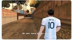 Enlace a ¿De nuevo Messi anunciará su retirada de la selección?