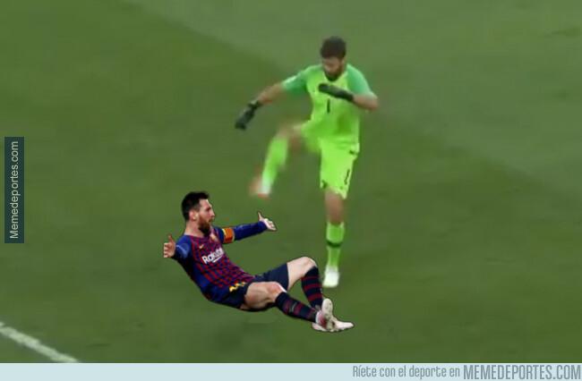 1079926 - Cada vez que Alisson se enfrenta a Messi